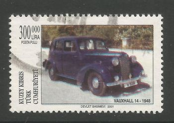 North Cyprus Stamps SG 0539 2001 300,000 TL - USED (L739)