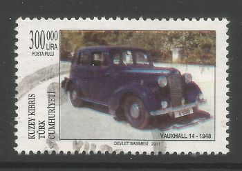 North Cyprus Stamps SG 0539 2001 300,000 TL - USED (L740)