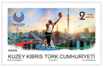 North Cyprus SG 2021 Olympic and Paralympic Games Tokyo 2020 2L