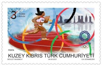 North Cyprus SG 2021 Olympic and Paralympic Games Tokyo 2020 3L
