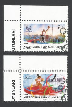 North Cyprus Stamps SG 2021 (b) Olympic and Paralympic Games TOKYO 2020  - CTO USED (L756)