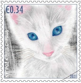 Cyprus Stamps 2021 - Cats 34c sample image
