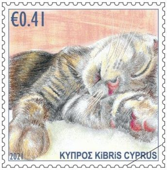 Cyprus Stamps 2021 - Cats 41c sample image