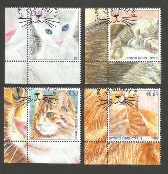 Cyprus Stamps SG 2021 (J) Cats - CTO USED (L780)
