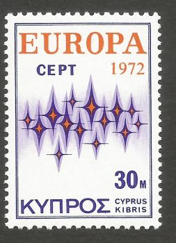 Cyprus Stamps SG 388 30 Mils - MINT