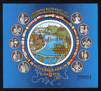 Hungary 1985 Mini sheet - MINT (d894)