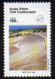 North Cyprus Stamps SG 286 1990 150TL Soli Amphitheatre - MINT