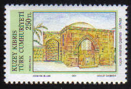 North Cyprus Stamps SG 307 1991 250TL Kucuk Medrese Fountain Lefkosa - MINT