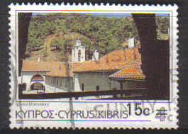 Cyprus Stamps SG 730 1988 15c/4c Surcharge - USED (c321)
