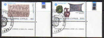 Cyprus Stamps SG 602-03 1983 Europa - CTO USED (d288)