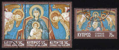 Cyprus Stamps SG 354-57 1970 Christmas - USED (e001)