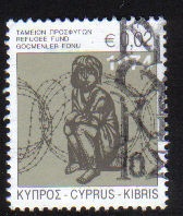 Cyprus Stamps 2008 Refugee Fund Tax SG 1157 - USED (e113)