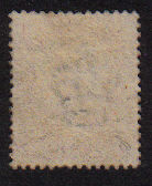 Cyprus stamp SG9 1881 Half-Penny Overprint with Inverted Watermark