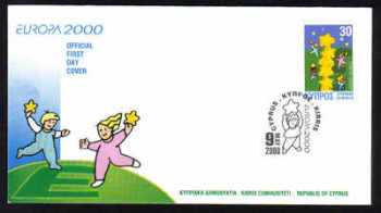 Cyprus Stamps SG 0996 2000 Europa - Official FDC