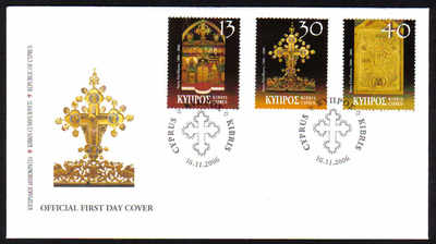 Cyprus Stamps SG 1120-22 2006 Christmas - Official FDC