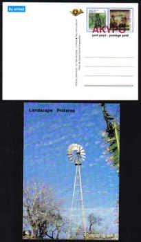 Cyprus Stamps 1989 Landscape Protaras Pre-paid Postcard - MINT (e024)