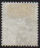 Cyprus Stamps SG 23 1882 1/2 on 1/2 Military cancellation