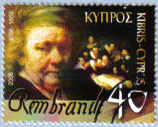 Cyprus Stamps SG 1107 2006 Rembrandt - USED (e190)