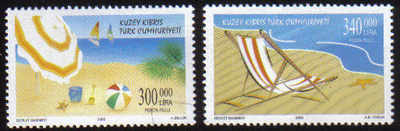 North Cyprus Stamps SG 0507-08 2000 Holidays - MINT