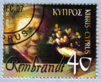 Cyprus Stamps SG 1107 2006 Rembrandt - USED (e192)