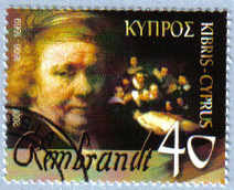 Cyprus Stamps SG 1107 2006 Rembrandt - USED (e191)