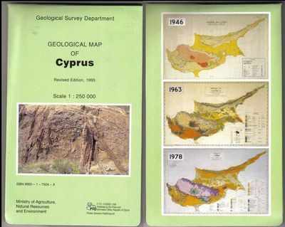 Cyprus Geology - Official Geological Survey Map of Cyprus