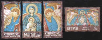 Cyprus Stamps SG 354-57 1970 Christmas - USED (e261)