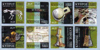 Cyprus Stamps SG 1137-44 2007 Cyprus Through the Ages - Part 1 USED (e252)