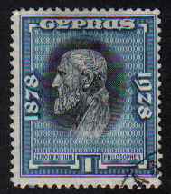 Cyprus Stamps SG 124 1928 One Piastre - USED (e290)