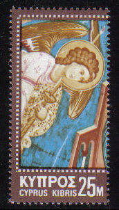 Cyprus Stamps SG 354 1970 25 Mils Christmas - MINT