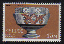 Cyprus Stamps SG 361 1971 15 Mils - MINT