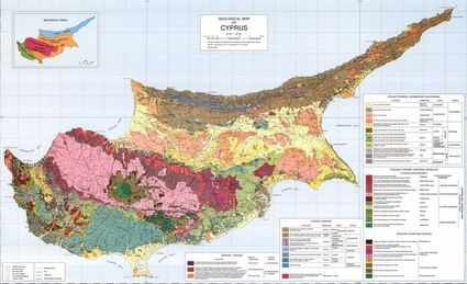 Cyprus Geological Survey Map