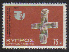 Cyprus Stamps SG 448 1975 75 Mils Anniversaries and Events - MINT