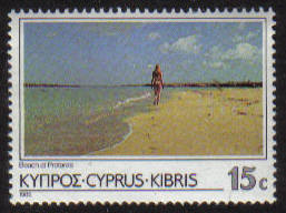 Cyprus Stamps SG 656 1985 15 cent 6th Definitives Scenes - MINT