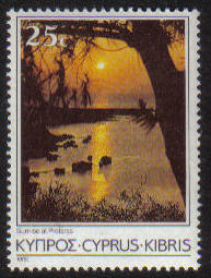 Cyprus Stamps SG 658 1985 25 cent 6th Definitives Scenes - MINT