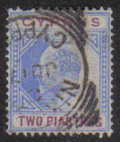 Cyprus Stamps SG 053 1903 Two Piastres - Used (e431)