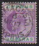 Cyprus Stamps SG 051 1903 30 Paras - USED (e427)