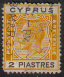 Cyprus Stamps SG 121 1925 2 Piastres - USED (e530)