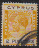 Cyprus Stamps SG 121 1925 2 Piastres - USED (e532)