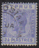 Cyprus Stamps SG 122 1925 2 1/2 Piastres - USED (e533)