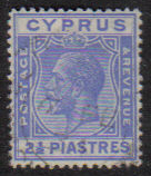 Cyprus Stamps SG 122 1925 2 1/2 Piastres - USED (e534)