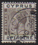 Cyprus Stamps SG 119 1925 3/4 Piastre - USED (e519)