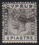 Cyprus Stamps SG 119 1925 3/4 Piastre - USED (e520)