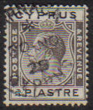 Cyprus Stamps SG 119 1925 3/4 Piastre - USED (e521)
