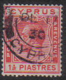 Cyprus Stamps SG 120 1925 One and a Half Piastres - USED (e528)