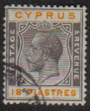 Cyprus Stamps SG 115 1924 18 Piastres - USED (e514)
