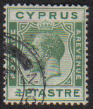 Cyprus Stamps SG 105 1924 3/4 Piastre - USED (e498)