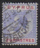 Cyprus Stamps SG 094 1922 Two 3/4 Piastres - USED (e484)