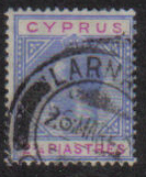 Cyprus Stamps SG 094 1922 Two 3/4 Piastres - USED (e485)