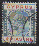 Cyprus Stamps SG 103 1924 1/4 Piastre - USED (e487)